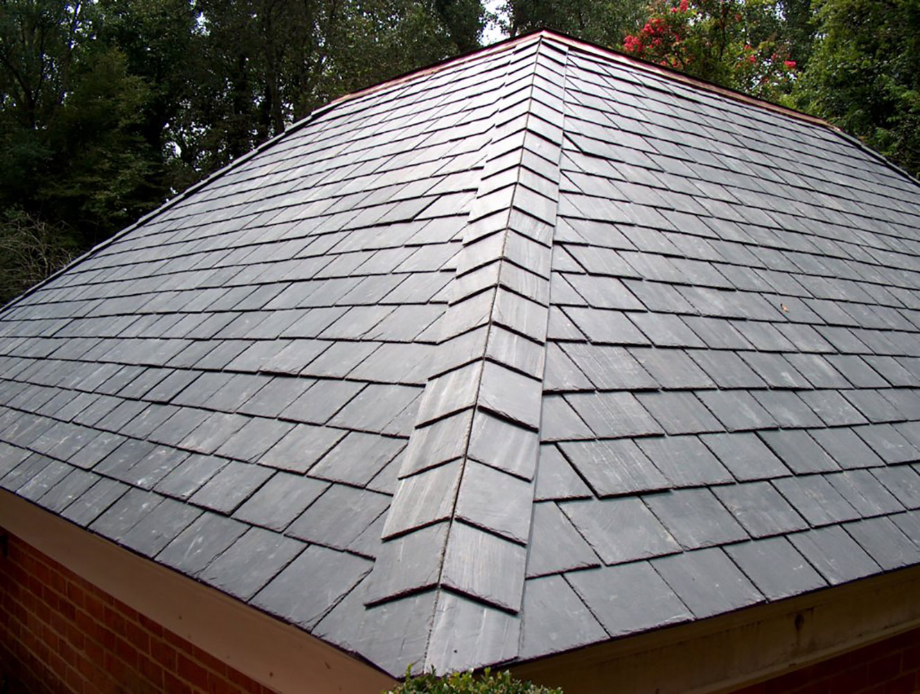 One Approach to Slate Roofing